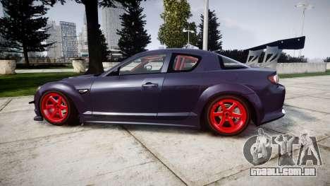 Mazda RX-8 Duck Edition para GTA 4