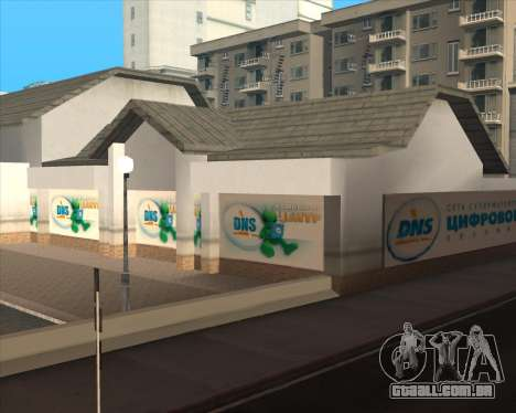 Substituição de publicidade (banners) para GTA San Andreas nono tela