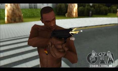 GTA ONLINE: SNS Pistol para GTA San Andreas por diante tela