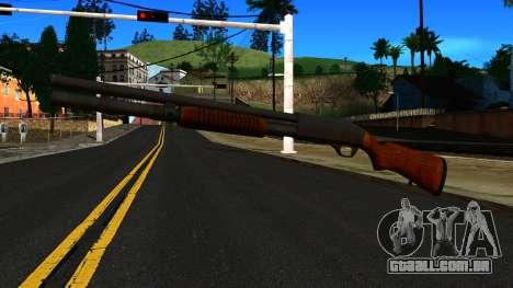 Madeira MP-133 Prata para GTA San Andreas