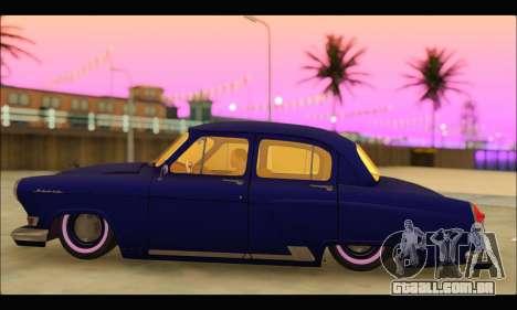 GAZ 21 Volga Resto para GTA San Andreas esquerda vista