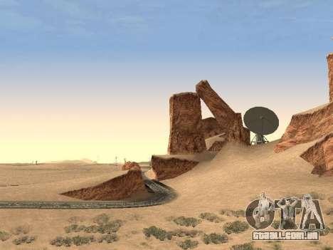 Real California Timecyc para GTA San Andreas quinto tela