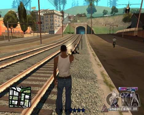 COSMOS C-HUD para GTA San Andreas