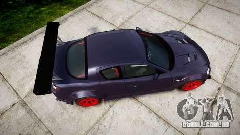 Mazda RX-8 Duck Edition para GTA 4 vista direita