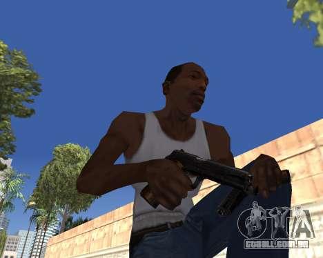HD Weapon Pack para GTA San Andreas sexta tela