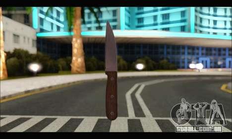 Faca romeno CR1 para GTA San Andreas