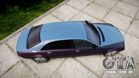 Enus Cognoscenti VIP para GTA 4 vista direita