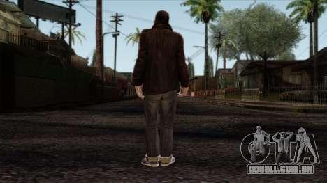 GTA 4 Skin 49 para GTA San Andreas segunda tela
