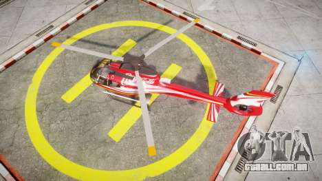 Eurocopter EC130 B4 Coca-Cola para GTA 4 vista direita