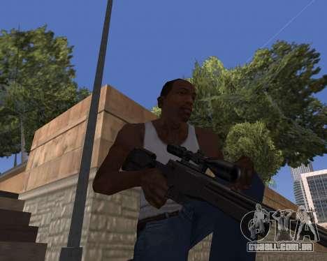 HD Weapon Pack para GTA San Andreas segunda tela