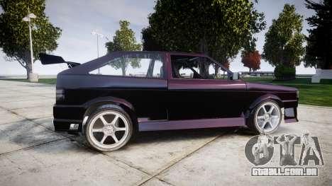 Volkswagen Gol GTI para GTA 4 esquerda vista