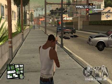 CLEO HUD by SampHack v.20 para GTA San Andreas terceira tela