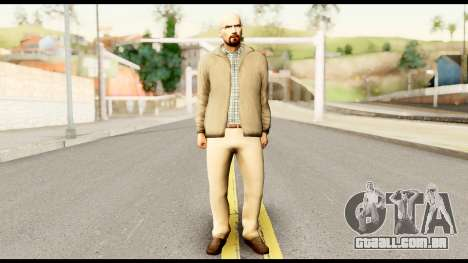 Heisenberg from Breaking Bad para GTA San Andreas