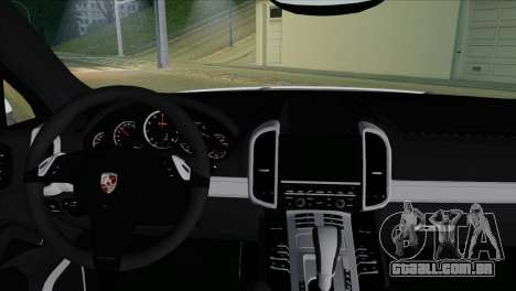 Porsche Cayenne Turbo 2012 para GTA San Andreas vista direita