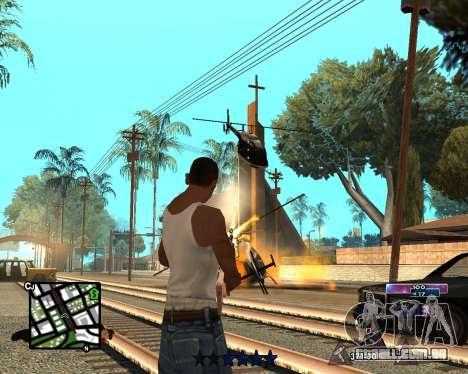 COSMOS C-HUD para GTA San Andreas segunda tela