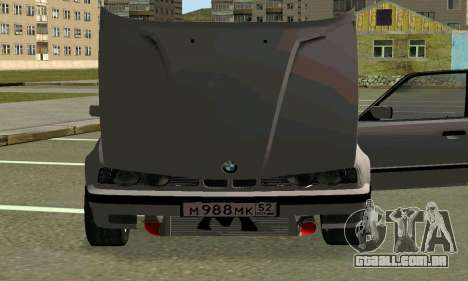 BMW 525 Turbo para GTA San Andreas vista superior