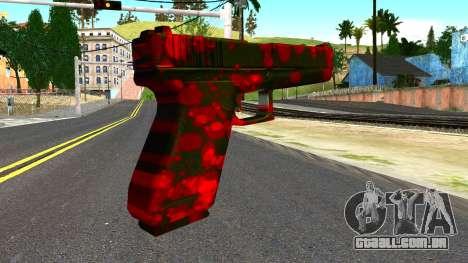 Pistol with Blood para GTA San Andreas segunda tela