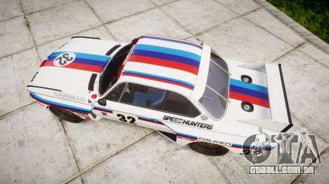 BMW 3.0 CSL Group4 [32] para GTA 4 vista direita