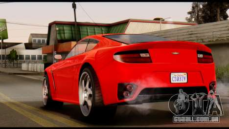 GTA 5 Dewbauchee Rapid GT Coupe [IVF] para GTA San Andreas esquerda vista
