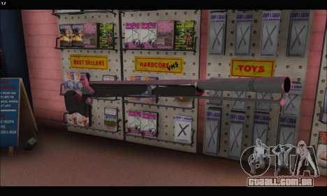 GTA V Musket para GTA San Andreas segunda tela