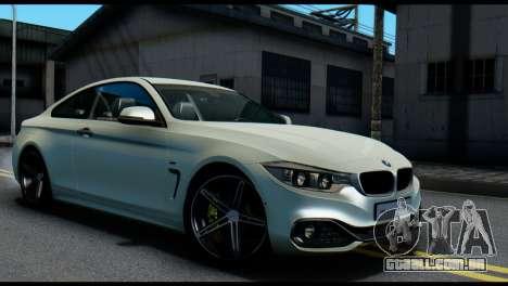 BMW 4-series F32 Coupe 2014 Vossen CV5 V1.0 para GTA San Andreas