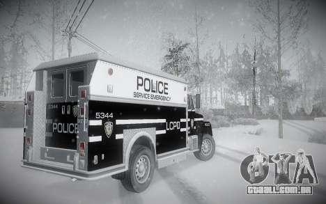 Inverno ENBSeries para GTA San Andreas quinto tela
