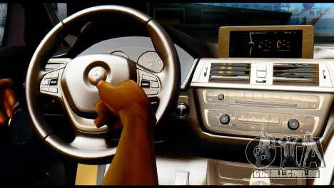 BMW 4-series F32 Coupe 2014 Vossen CV5 V1.0 para GTA San Andreas vista direita