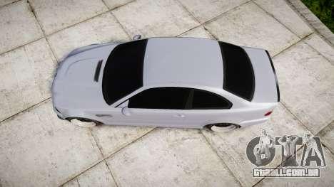 BMW E46 M3 para GTA 4 vista direita
