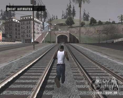 Colormod High Black para GTA San Andreas por diante tela