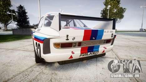 BMW 3.0 CSL Group4 [32] para GTA 4 traseira esquerda vista