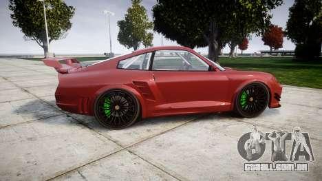 GTA V Pfister Comet 918 Wheel para GTA 4 esquerda vista