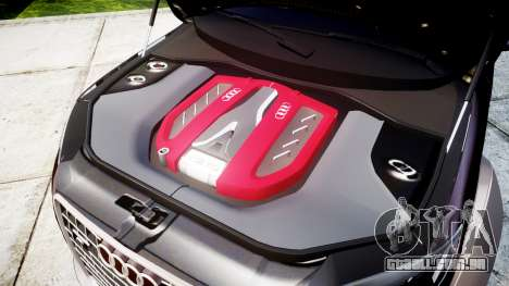 Audi Q7 2009 ABT Sportsline [Update] rims2 para GTA 4 vista interior