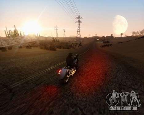 ENB_OG v2 para GTA San Andreas segunda tela