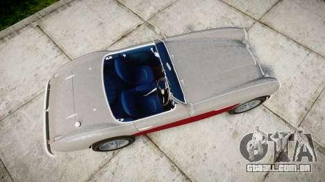 Austin-Healey 100 1959 para GTA 4 vista direita