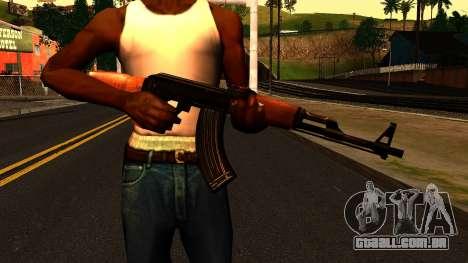 AK47 from Chernobyl 3: Underground para GTA San Andreas terceira tela
