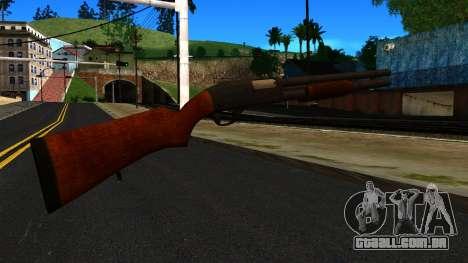 Madeira MP-133 Prata para GTA San Andreas segunda tela