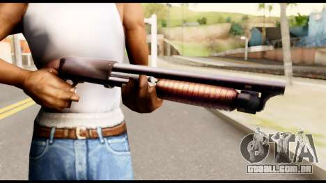 M37 from Metal Gear Solid para GTA San Andreas terceira tela