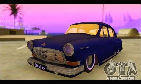 GAZ 21 Volga Resto para GTA San Andreas
