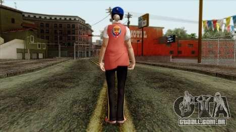 GTA 4 Skin 81 para GTA San Andreas segunda tela