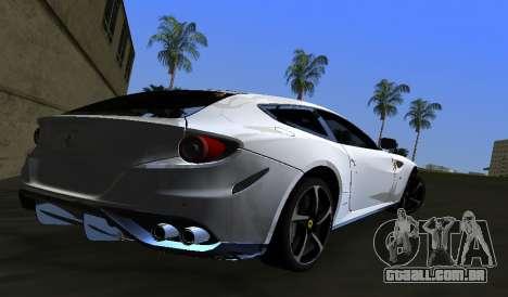 Ferrari FF para GTA Vice City deixou vista