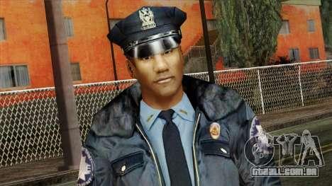 Police Skin 11 para GTA San Andreas terceira tela