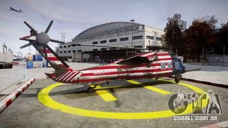 Sikorsky MH-X Silent Hawk [EPM] Freedom para GTA 4 esquerda vista