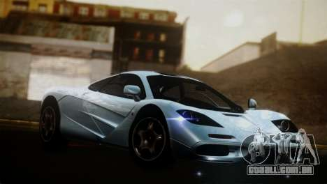 McLaren F1 Autovista para GTA San Andreas