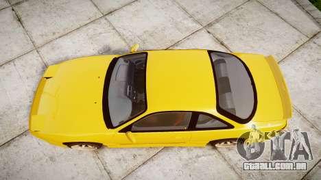 Nissan Onevia S14 para GTA 4 vista direita