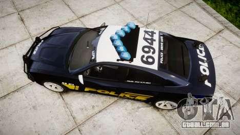 Dodge Charger RT 2013 LCPD [ELS] para GTA 4 vista direita