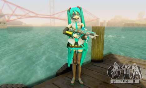 Hatsune Miku Dreamy Theater para GTA San Andreas segunda tela