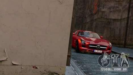 Mercedes-Benz SLS AMG 2011 [EPM] para GTA 4 vista direita