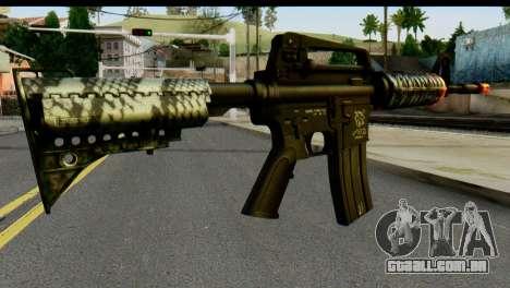 Kill Em All M4 para GTA San Andreas segunda tela