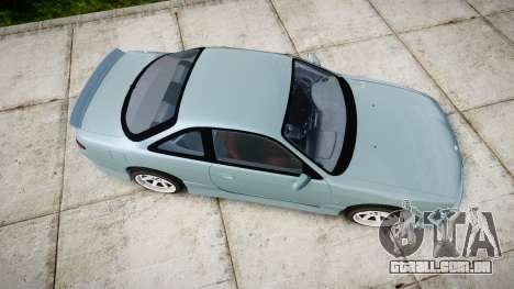 Nissan Silvia S14 Vertex para GTA 4 vista direita