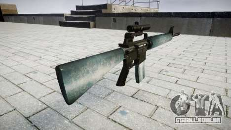 O M16A2 rifle [óptica] gelada para GTA 4 segundo screenshot